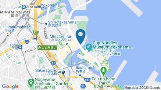 InterContinental Yokohama Grand, an IHG Hotel Map