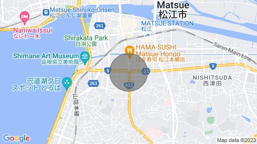9 Minute Walk From Matsue Station / Matsue Shimane Map