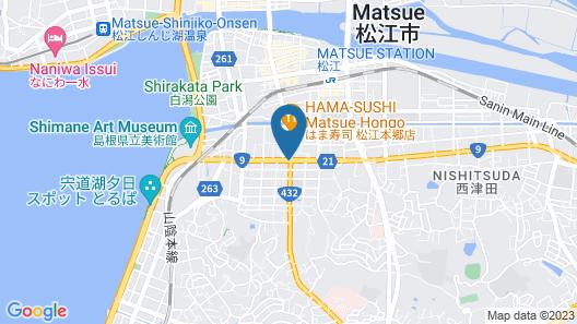Rakuten STAY HOUSE × WILL STYLE Matsue Map