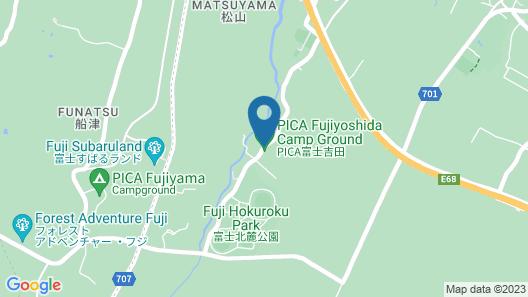 PICA FUJIYOSHIDA - Campsite Map