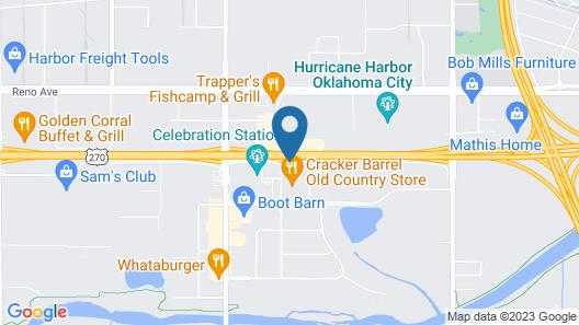 Baymont by Wyndham Oklahoma City Airport Map