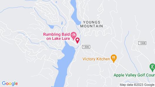 Rumbling Bald Resort Map
