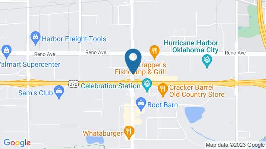 Tru By Hilton Oklahoma City Airport Map