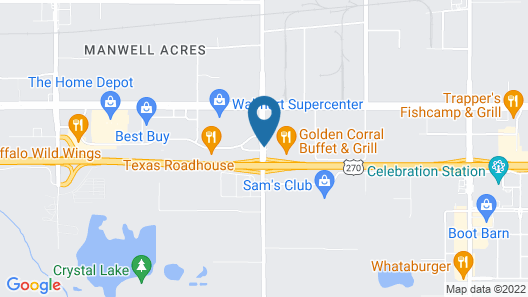 Springhill Suites by Marriott Oklahoma City Airport Map