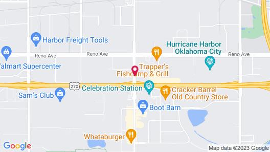 Days Inn by Wyndham Oklahoma City West Map