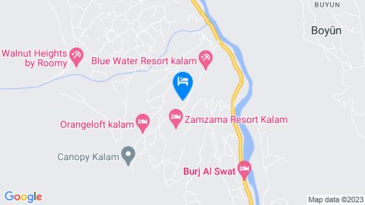Jungle Inn Map
