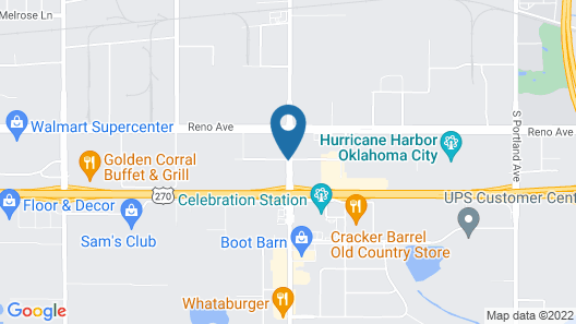 Biltmore Hotel Oklahoma Map