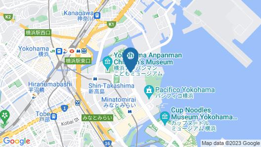 Hotel Vista Premio Yokohama Minatomirai Map