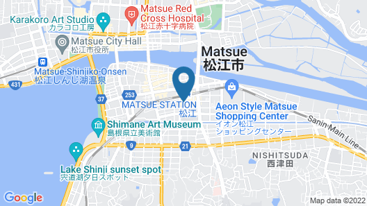 Matsue Plaza Hotel Honkan Map