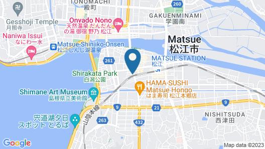 Matsue Guest House - Hostel Map