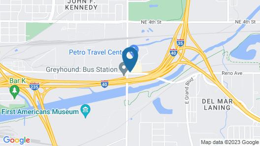 Clarion Inn & Suites Oklahoma City near Bricktown Map
