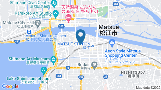 Green Richi Hotel Mastue-ekimae Map