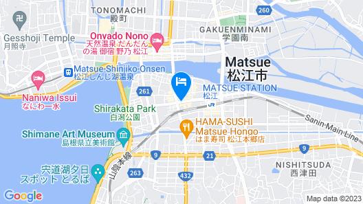 Dormy Inn Express Matsue Map