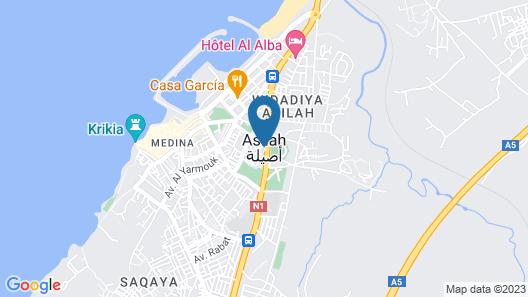 Dar Ka Asilah Map