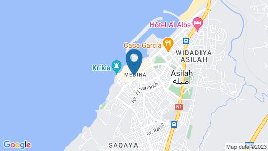 Dar Manara Map