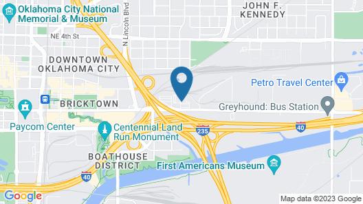 Country Inn & Suites by Radisson, Oklahoma City-Bricktown, OK Map
