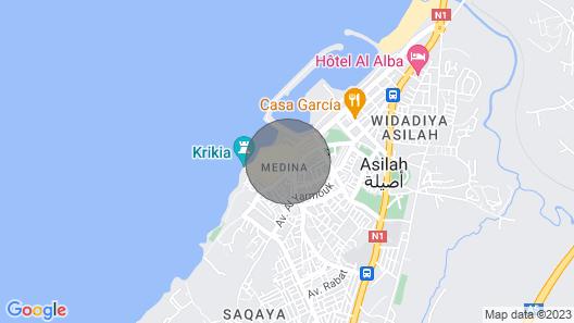 Marokkolainen Talo Kahdella Terassilla, Ideaaliset Parit! Map