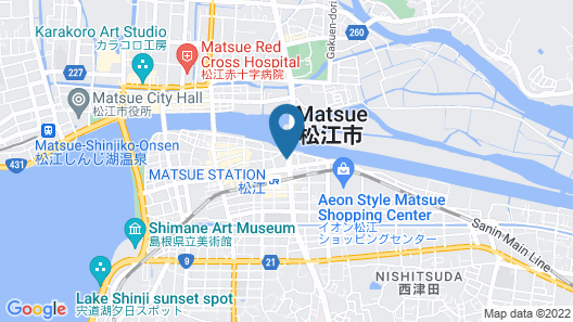 Matsue Urban Hotel CUBICROOM Map
