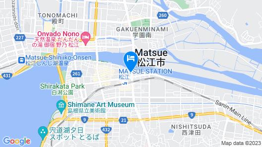 Matsue Urban Hotel Map