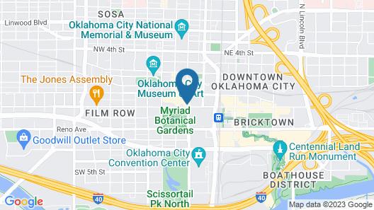 Colcord Hotel Map