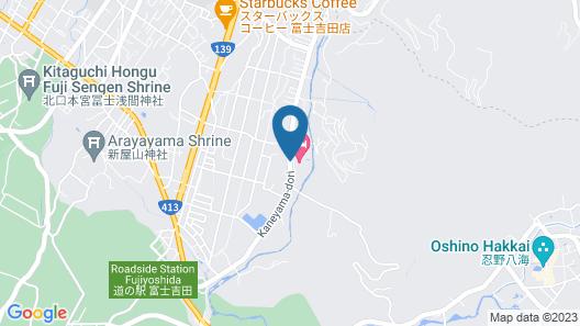 Fujisan Onsen Bessho SASA Map