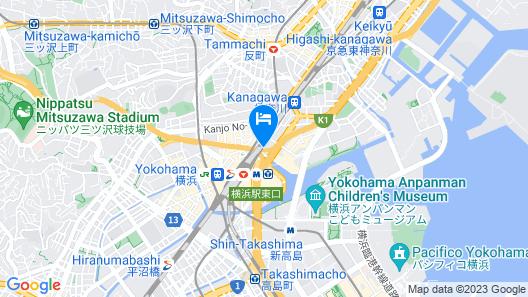 KEIKYU EX INN YOKOHAMA-STATION EAST Map