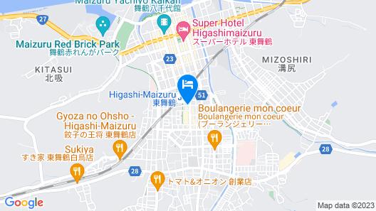 Hotel Arstainn Map