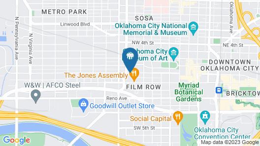 21c Museum Hotel Oklahoma City - MGallery Map