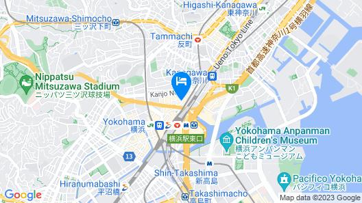 Richmond Hotel Yokohama Ekimae Map