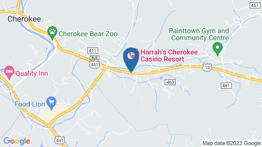 Fairfield Inn Suites by Marriott Cherokee Map