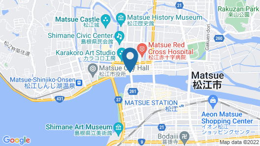 Matsue City Hotel  - Annex Map