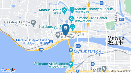 Matsue New Urban Hotel  Map