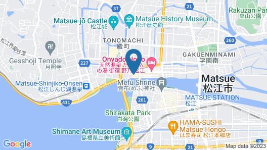 Minamikan Map
