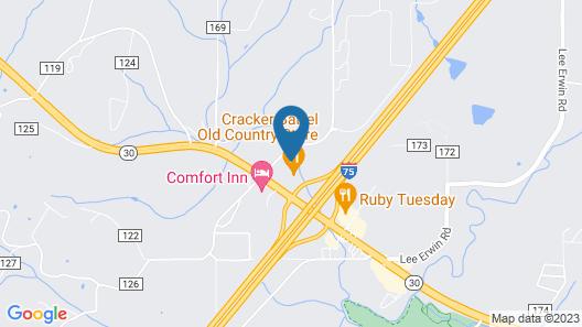 Fairfield Inn & Suites Athens Marriott Map
