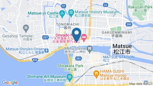 Matsue City Hotel Map