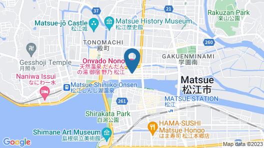 Hotel Route-Inn Matsue Map