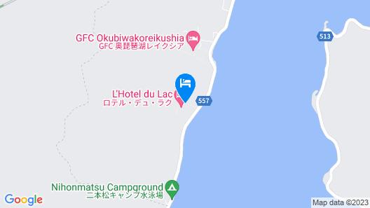 L'Hotel du Lac Map