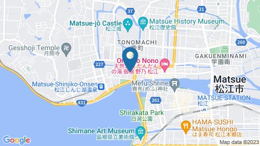 Matsue New Urban Hotel Map