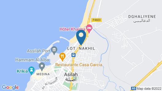 Pasta Plaza Hotel Map