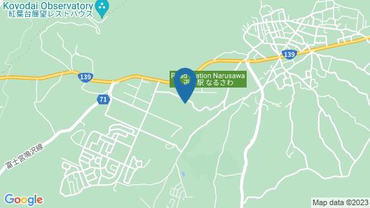 Jiragonno Fuji no Yakata Map