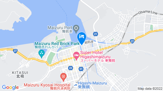 Hotel Bellmare Map
