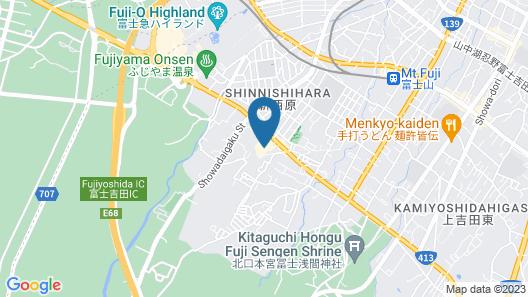 Resort Inn Fuyo Map