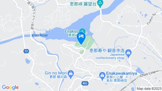 Yukai Resort Enakyoonsen Enakyo Kokusai Hotel Map