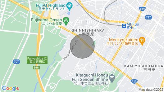 Westernstyle log House P 85 Square Meters Mt F / Fujiyoshida Yamanashi Map