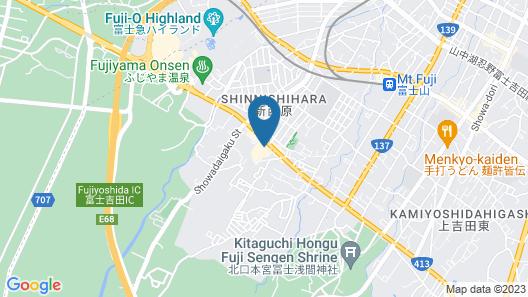 Fujisan Resort Loghouse Fuyo no Yado Map