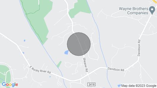 The Davidson Blue Cottage Map