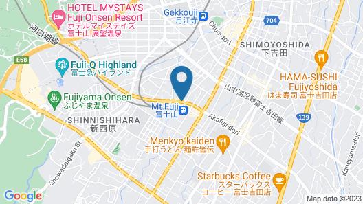 FUJIYAMA BASE Map
