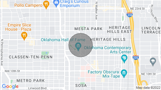 NEW Midtown / Downtown Guesthouse: Middle of Everything Walk to Everywhere Map