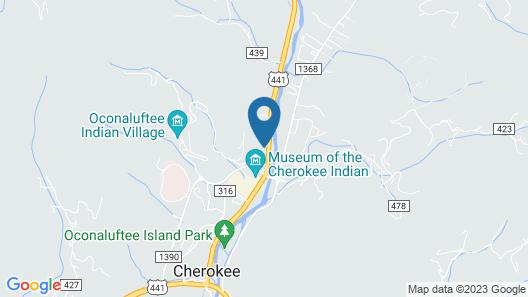 Rolling Hills Lodge Map