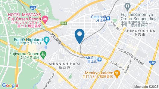 Rakuten STAY HOUSE Fujiyoshida Matsuyama Map